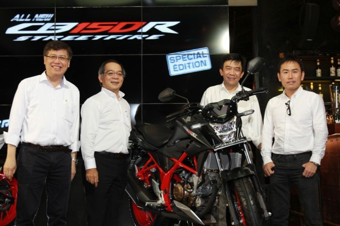 AHM Luncurkan All New Honda CB150R StreetFire Special Edition